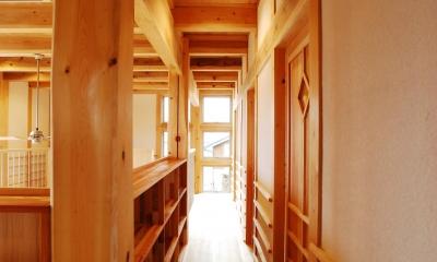 ヨコの家 (廊下)
