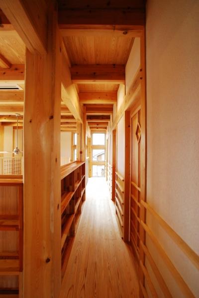 廊下 (ヨコの家)