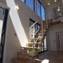 MIMEはうすの写真 開放的なオープン型階段