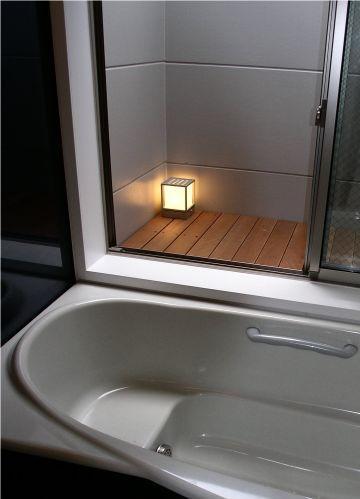 ビール坂の家の部屋 2階にあるバスルーム