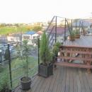 zekkeiハウスの写真 絶景のウッドデッキ