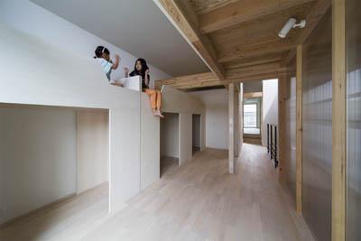御陵谷の住宅の部屋 遊び心のある子供部屋