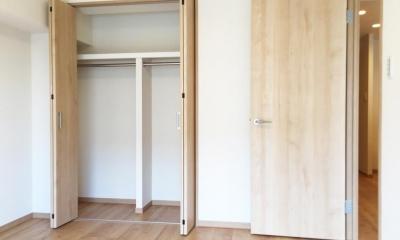 納戸とWIC+クローゼットで約7帖分の収納スペース