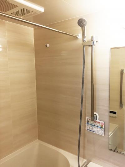 バスルーム (納戸とWIC+クローゼットで約7帖分の収納スペース)