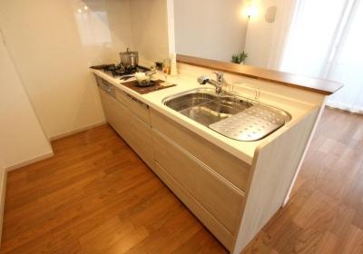 キッチン (開放感あふれる明るい住まい)