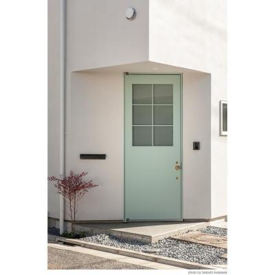 サンチャノヤネ (玄関ドア)