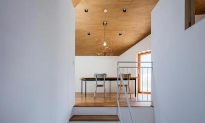 サンチャノヤネ (階段)