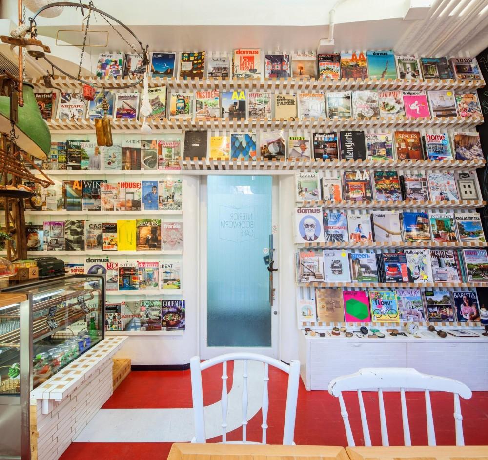 INTERIOR BOOKWORM CAFE (Book Shelf)