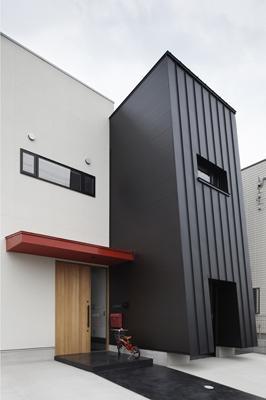 木津川の住宅の写真 適度な距離感を持つ2世帯住宅