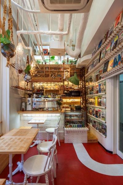 Kitchen (INTERIOR BOOKWORM CAFE)