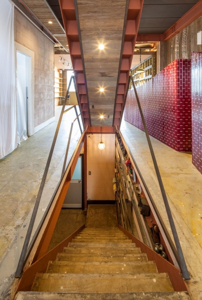 Stair (SALT VALLEY RENOVATION PROJECT)