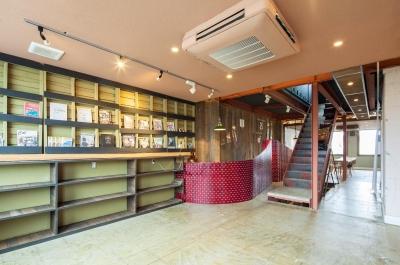 SALT VALLEY RENOVATION PROJECT (The Bookshelf)