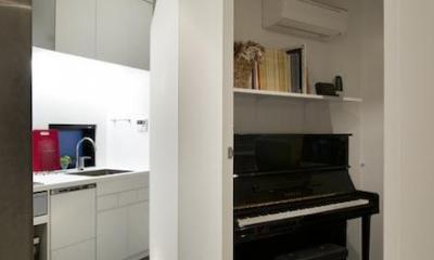 RESONANCE -58m²に、二つの音楽スタジオが