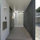 豊見城の住宅1の写真 玄関アプローチ