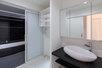 洗面脱衣室 (GOEN MUSUBIの家)