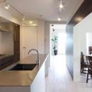SWITCH -宝塚のマンションリンベーション-の写真 広々としたキッチン