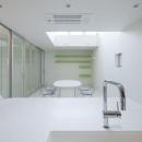 阿倍野の家の写真 キッチンからリビングの眺め