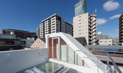 阿倍野の家 (屋上)
