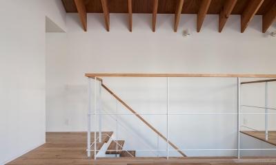 サンチャノマド (開放的な階段)