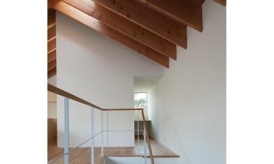 サンチャノマド (階段から書斎へ)