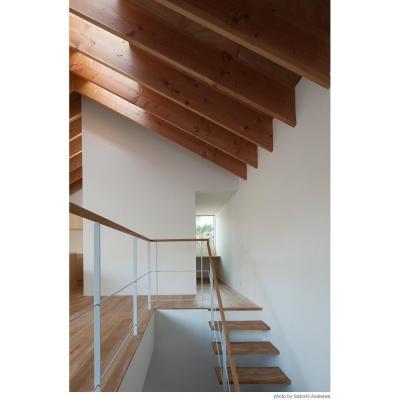 階段から書斎へ (サンチャノマド)
