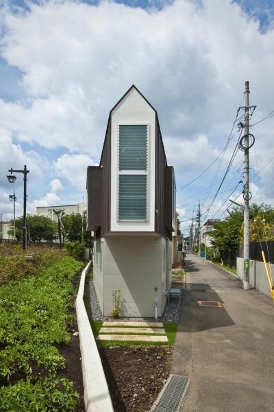 堀ノ内の住宅 (東側外観)