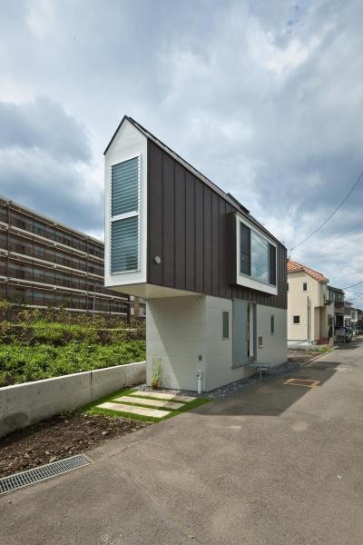 堀ノ内の住宅 (北東外観)