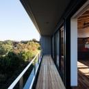 新庄のスキップハウスの写真 絶景のウッドデッキ