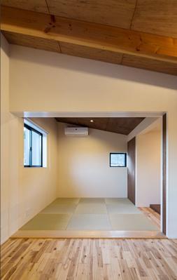 新庄のスキップハウス (落ち着く寝室)