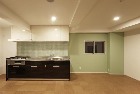 豊里のリノベーションの部屋 親世帯のキッチン
