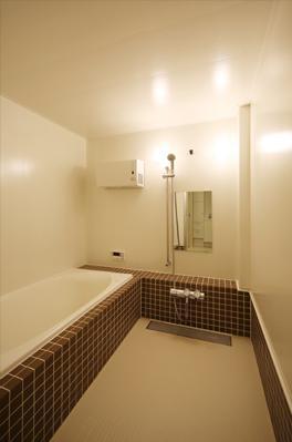 豊里のリノベーションの部屋 落ち着くバスルーム