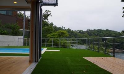 外と中との繋がり|安心という贅沢を。自然エネルギーだけで生活できる家