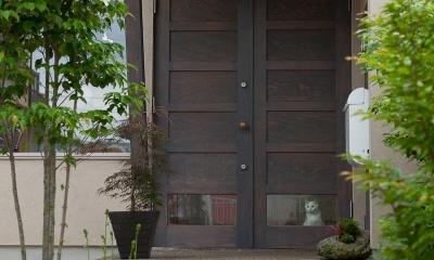 玄関|船橋・猫と暮らす家