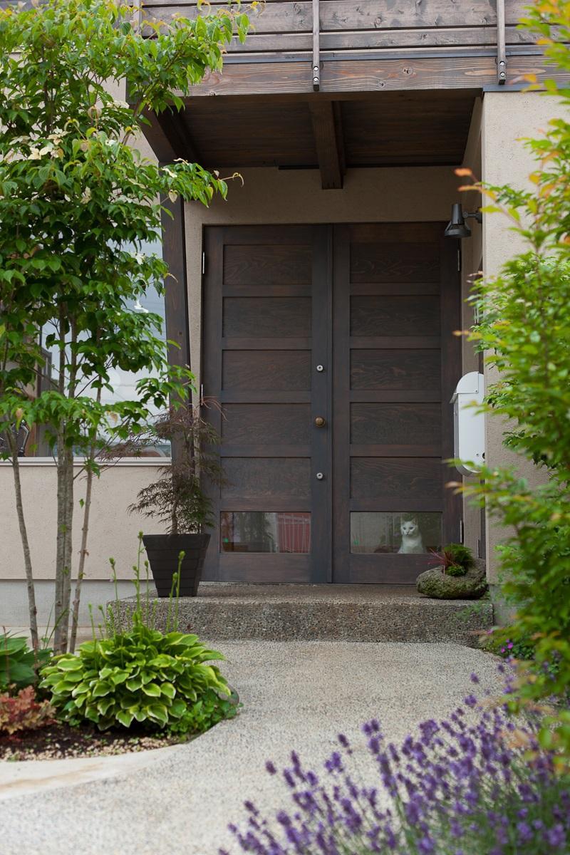 船橋・猫と暮らす家の部屋 玄関
