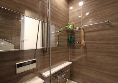 浴室 (安らぎに満ちた空間に住まう)