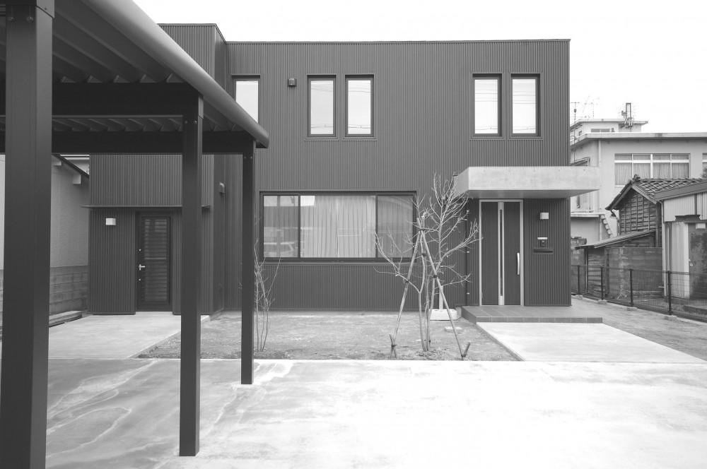 外観1 (北海道仕様の外断熱住宅)