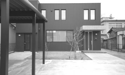 北海道仕様の外断熱住宅 (外観1)