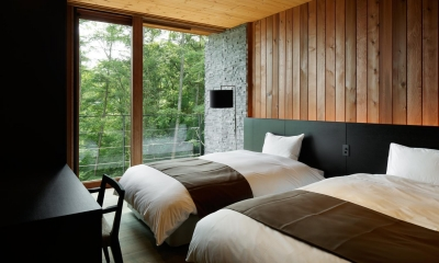58A山荘 (ベッドルーム)