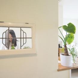 UEHARA APARTMENT (キッチンにある窓)
