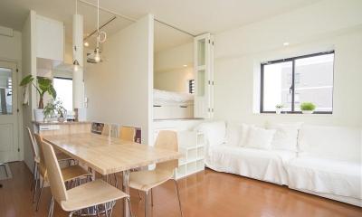 UEHARA APARTMENT (寝室と収納)