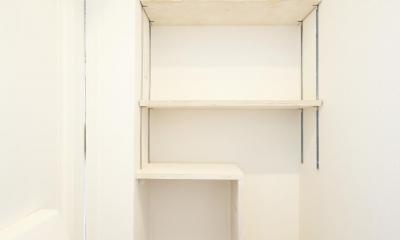 靴好きな方に嬉しい玄関収納|アンティークブルーのジブンだけ空間
