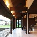 YZH 大屋根と高気密の写真 コリドール