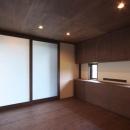 YZH 大屋根と高気密の写真 主寝室