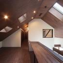 YZH 大屋根と高気密の写真 学習スペース