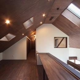 学習スペース (YZH 大屋根と高気密)