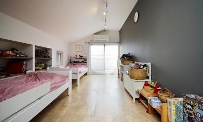 子ども部屋|実家を完全分離の二世帯住宅に。デザインにもこだわった理想のすまい。