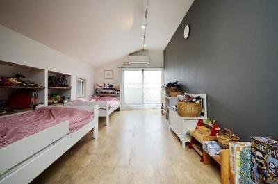子ども部屋 (実家を完全分離の二世帯住宅に。デザインにもこだわった理想のすまい。)