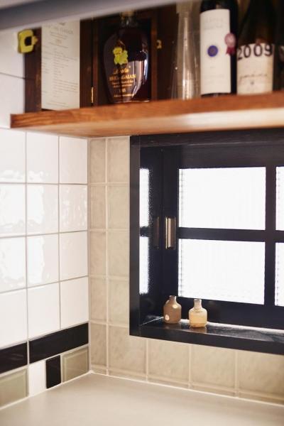 キッチン (~築38年戸建住宅~1階に仕事場、2階は明るく心地よいリビングを。子育てしながら仕事ができる住まい)