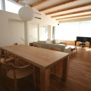 鎌倉T邸 -南北への眺望が得られる2階オープンLDK-