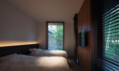 YM山荘 (ベッドルーム2)